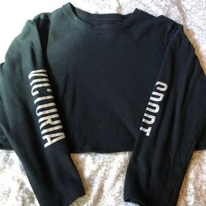 Victoria Secret Sport Cropped Sweater